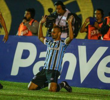 Thaciano no time titular do Grêmio