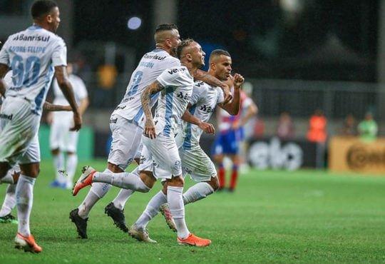 horários das partidas do Grêmio