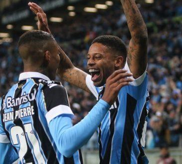 gols da vitória do Grêmio sobre o athletico