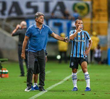 grêmio que enfrenta o Palmeiras