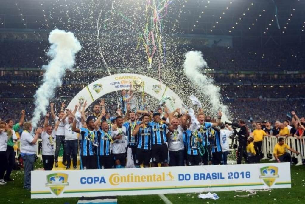 maior campeão da copa do brasil