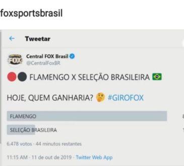 flamengo com a seleção brasileira
