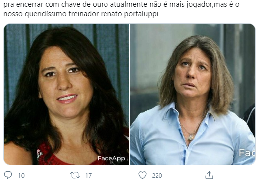 jogadores do Grêmio se fossem mulher